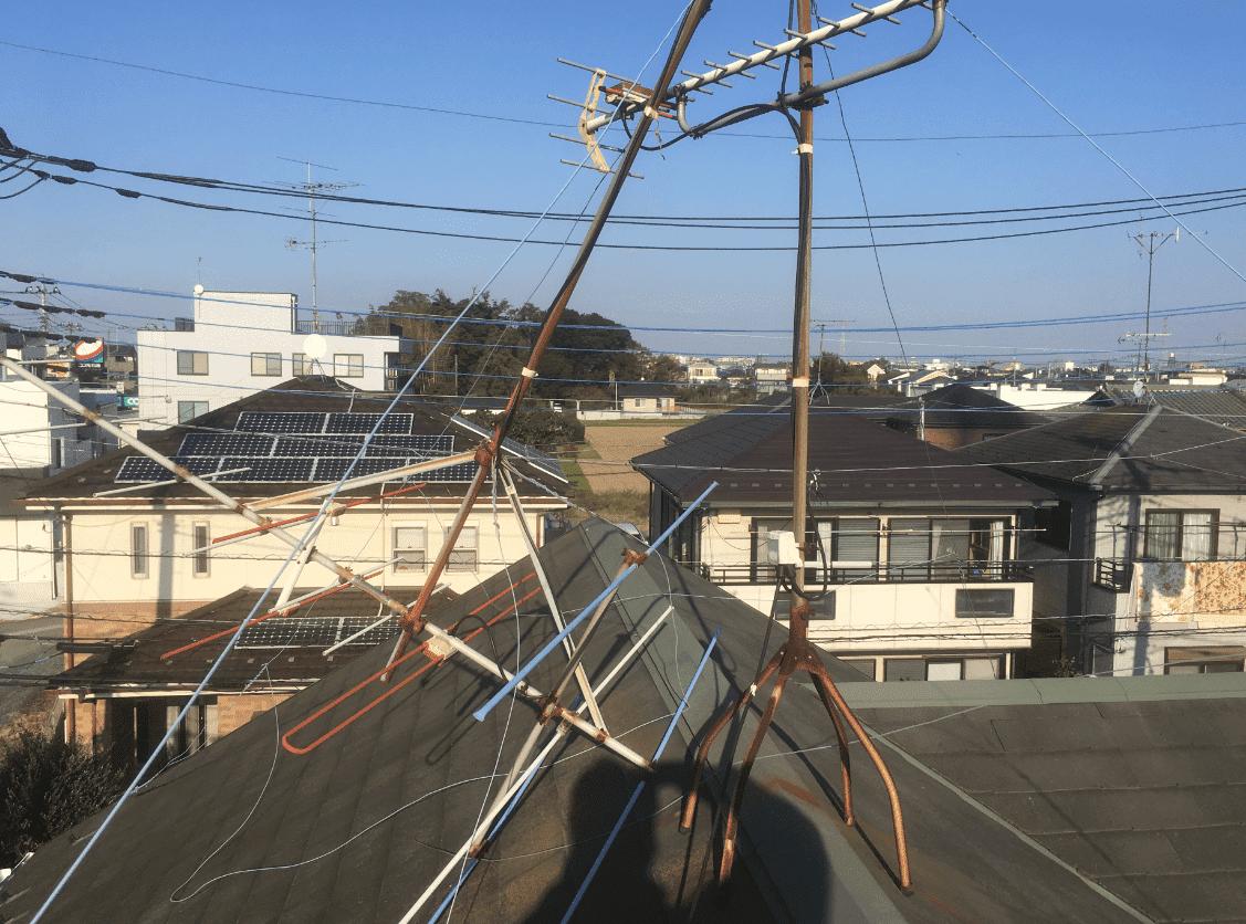 屋根上アンテナ